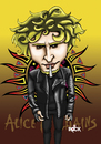 Cartoon: alice in chains (small) by mitosdorock tagged alice,in,chains