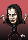 Cartoon: dio (small) by mitosdorock tagged dio,metal,rock