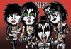 Cartoon: kiss (small) by mitosdorock tagged kiss,rock