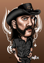Cartoon: motorhead (small) by mitosdorock tagged motorhead,rock