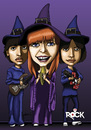Cartoon: Mutantes (small) by mitosdorock tagged rock,mutantes,rita,lee
