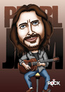 Cartoon: pearl jam (small) by mitosdorock tagged pearl,jam