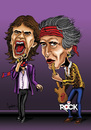 Cartoon: Rolling Stones (small) by mitosdorock tagged rolling,stones,rock,mich,jagger