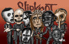 Cartoon: slipknot (small) by mitosdorock tagged slipknot