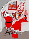 Cartoon: ho ho ho (small) by Miro tagged santa,claus