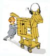 Cartoon: No coment (small) by Miro tagged no,coment