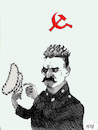 Cartoon: Stalin (small) by Miro tagged stalin