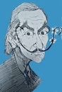 Cartoon: Salvador dali (small) by SiR34 tagged salvador,dali