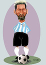 Cartoon: Messi (small) by Senad tagged messi,senad,nadarevic,cartoon,bosnia