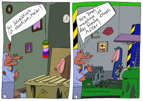 Boss Von Leichnam Wirtschaft Cartoon Toonpool