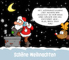 Cartoon: Frohe Weihnachten (small) by Trantow tagged weihnachten tracking app corona 2020
