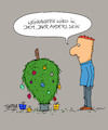 Cartoon: Weihnachten (small) by Trantow tagged weihnachten,christmas,xmas,baum,pandemie,2020,virus,corona