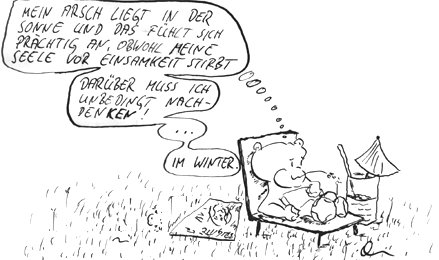 Cartoon: frühling (medium) by kusubi tagged kusubi