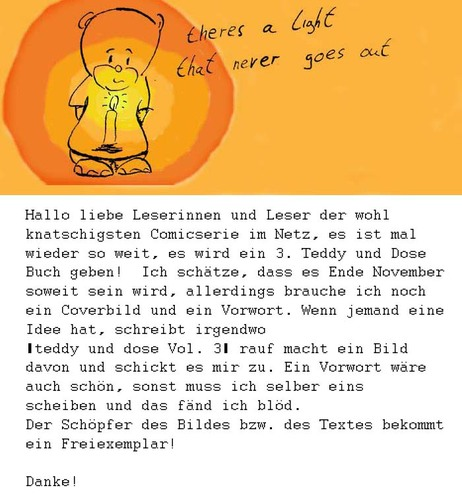 Cartoon: in eigener Sache (medium) by kusubi tagged kusubi