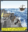 Cartoon: Autotune Sirens (small) by cartertoons tagged sailors,ships,sirens,mythology,autotune,music,singing,women,men,relationships,love,death,deception