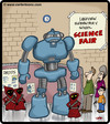 Cartoon: Droid Exhibit (small) by cartertoons tagged jawas,droids,science,fair,schools,education,technology,robots,kids,children,teachers,families