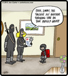 Cartoon: Ninja Student (small) by cartertoons tagged ninja,students,school,parents,home,life