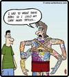 Cartoon: Tattoo annexing (small) by cartertoons tagged tattoo,tattoos,arms,body,art,prosthesis