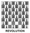 Cartoon: REVOLUTION (small) by Fareus tagged revolution