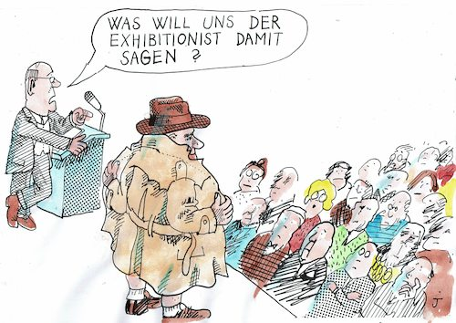 Cartoon: Frage (medium) by Jan Tomaschoff tagged phrasen,erotik,phrasen,erotik
