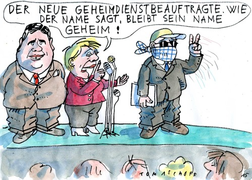 Cartoon: Geheim (medium) by Jan Tomaschoff tagged geheimdienste,spionage,geheimdienste,spionage