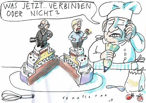 Hochzeitstorte Von Jan Tomaschoff Politik Cartoon Toonpool