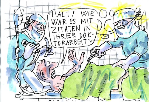Cartoon: Moment (medium) by Jan Tomaschoff tagged guttenberg,doktorarbeit,zitat,doktor,guttenberg,doktorarbeit,zitat,doktor