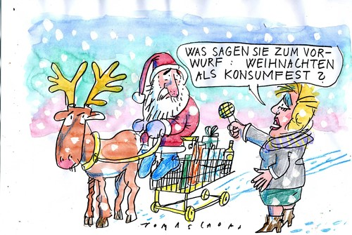 weihnachten 5 von jan tomaschoff religion cartoon toonpool. Black Bedroom Furniture Sets. Home Design Ideas