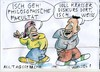 Cartoon: Alltagssprache (small) by Jan Tomaschoff tagged migranten,deutsche,sprache
