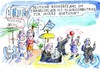 Cartoon: Bankenteams (small) by Jan Tomaschoff tagged bank,banken,banker