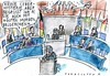 Cartoon: Cyberattacke (small) by Jan Tomaschoff tagged cyberangriff,bundestag,hacker