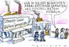 Cartoon: kontrollierter Anbau (small) by Jan Tomaschoff tagged waffenhandel