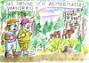 Cartoon: Meinstream Wandern (small) by Jan Tomaschoff tagged internet,natur,kommunikation