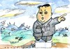 Cartoon: no (small) by Jan Tomaschoff tagged north,korea