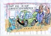 Cartoon: Subventionsbrems (small) by Jan Tomaschoff tagged auto