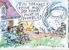 Cartoon: Tornado (small) by Jan Tomaschoff tagged bundeswehr,tornados