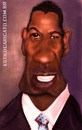 Cartoon: Denzel Washington collor (small) by MRDias tagged cariccature,photoshop