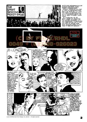 Cartoon: Strangers In The Night Page 2 (medium) by FeliXfromAC tagged comic,film,noir,retro,gangster,hollywood,classic,poster,crime,felix,alias,reinhard,horst,aachen,frau,woman,action,design,line,sinatra