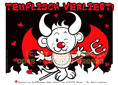 Cartoon: The devil Without Ms. Jones! (medium) by FeliXfromAC tagged illustration,cartoon,comic,red,rot,entwurf,layout,line,design,hot,hell,heiß,hölle,sympathiefigur,mascot,teufel,devil,aachen,horst,reinhard,alias,felix,sheet,model,charakter