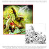Cartoon: CD Cover (small) by FeliXfromAC tagged felix,reinhard,horst,design,line,horror,comic,swcd,cover,grün,tod,layout,aachen,illustration,illustrator,cartoon,nrw,germany