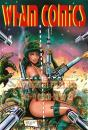 Cartoon: Cover- und Typo  WHAM Comics (small) by FeliXfromAC tagged wham,cover,design,line,felix,alias,reinhard,horst,action,stockart,aachen,girl,frau,woman,monster,waffen,weapons,fight,kampf,