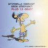Cartoon: Hitzewelle (small) by Jutta Lehmann tagged wetter,winter,schnee,eisiger,wind,wenig,sonne