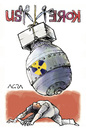 Cartoon: BOOM!! (small) by AGRA tagged war,conflict,nuclear