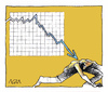 Cartoon: there is no escape (small) by AGRA tagged economy,crisis