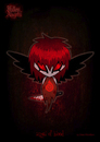 Cartoon: fallen angels - angel of blood (small) by volkertoons tagged engel,angel,angels
