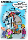 Cartoon: Altersarmut in Germany (small) by cartoonist_egon tagged armut,alter,rentner