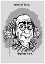 Cartoon: Ibrahim Tapa Nr 2 (small) by cartoonist_egon tagged karikatur