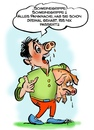Cartoon: Iss nix passiert! (small) by cartoonist_egon tagged h1n1