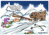 Cartoon: Toilettenpapier?? (small) by cartoonist_egon tagged ski,wintersport,bernhardiner,winter,berge