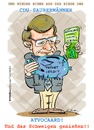Cartoon: Wulff 1 (small) by cartoonist_egon tagged bundespräsident,wulff,politik,und,kredite